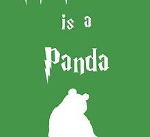 My Patronus is a Panda by OuroborosEnt