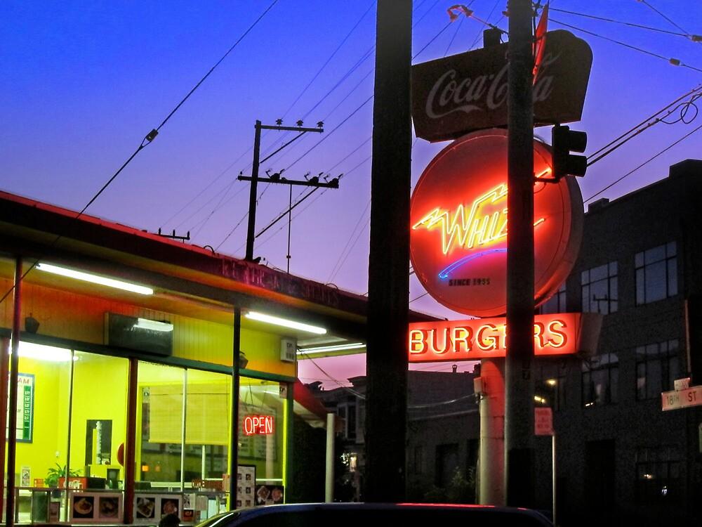 San Francisco Whiz Burgers by David Denny