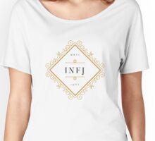 INFJ Ornamental Insignia (light) Women's Relaxed Fit T-Shirt