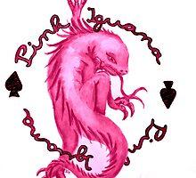 Pink Iguana Paint by pinkiguana