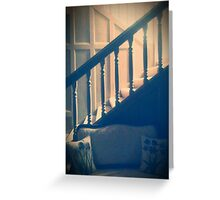 Grandparent's Stairwell  Greeting Card