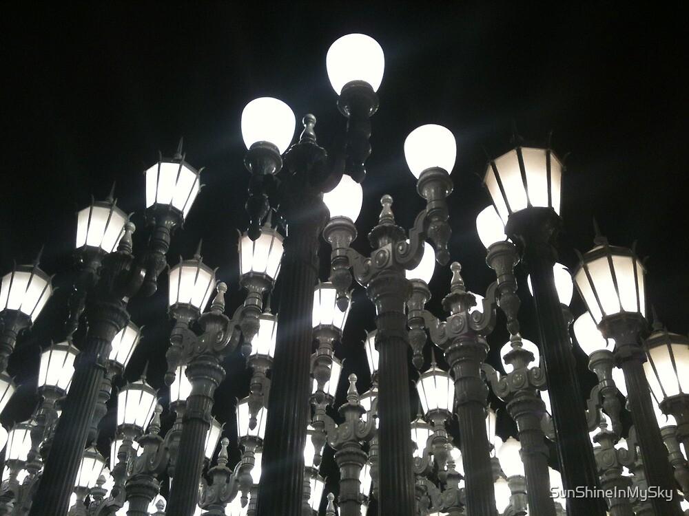 LACMA Night Lights by SunShineInMySky
