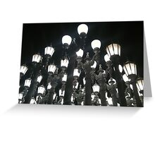 LACMA Night Lights Greeting Card