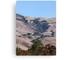 Nestled in the Mountains  Canvas Print