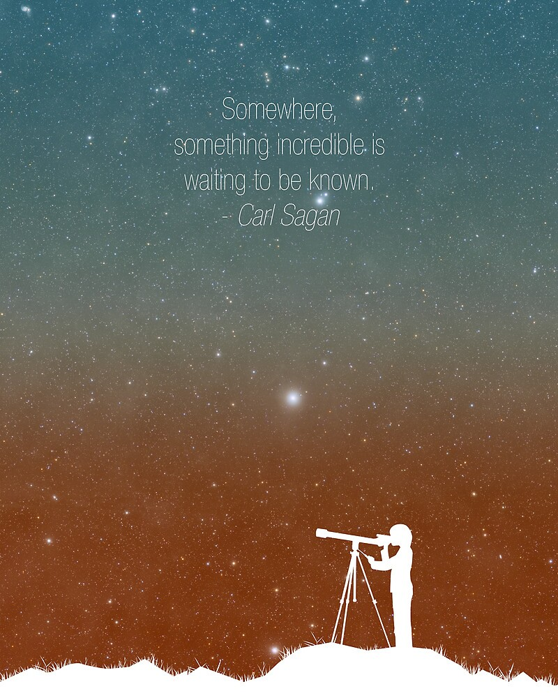 Through the Telescope by Simon Alenius