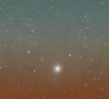 Through the Telescope Sticker