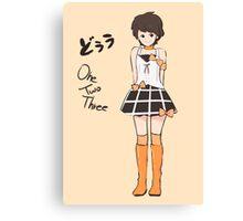 Kudo Haruka - One.Two.Three Canvas Print