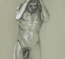 Figure Study by Cameron Hampton