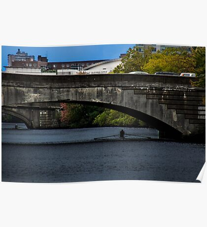 Charles River Scull Poster