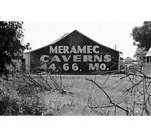 Route 66 - Meramec Caverns Barn Photographic Print