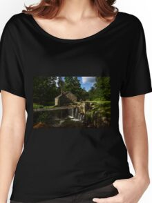 Canal house at Waterloo Village Women's Relaxed Fit T-Shirt