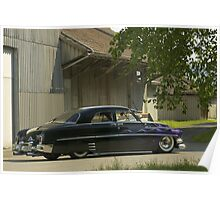 Mercury Sedan 1951 Top Chop #6 Poster
