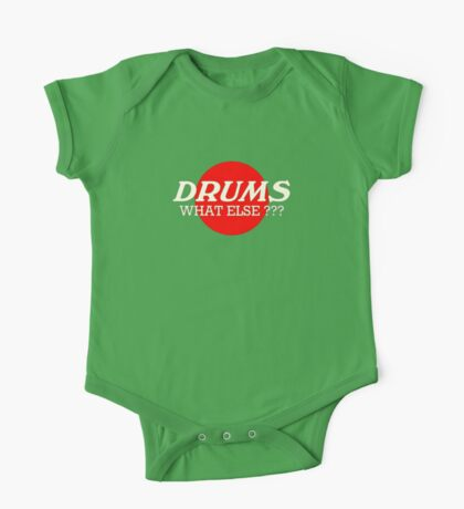 Drums What Else One Piece - Short Sleeve