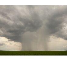 Rain Bomb Photographic Print