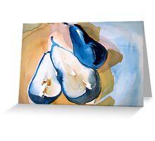 Pears III Greeting Card