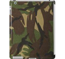 Brown Green Tan Camo iPad Case/Skin