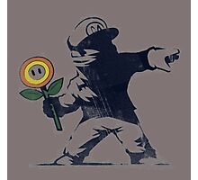 Banksy Mario Photographic Print