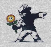 Banksy Mario by aniplexx