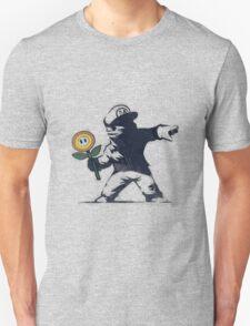 Banksy Mario T-Shirt