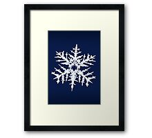 Evil Snow Framed Print