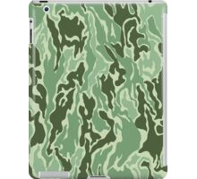 Green on Green Camo iPad Case/Skin