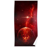 Fiery Planet Poster