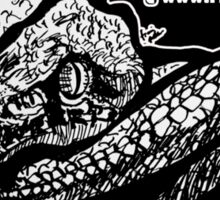 Darksnake T-Shirt by Frank Louis Allen Sticker