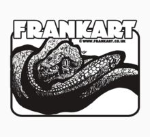 Light Snake T-Shirt by Frank Louis Allen by Frank Allen