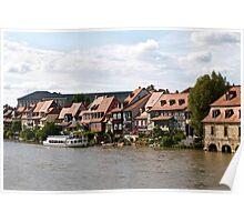 Little Venice in Bamberg Poster