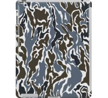 Gray & Brown Camo iPad Case/Skin