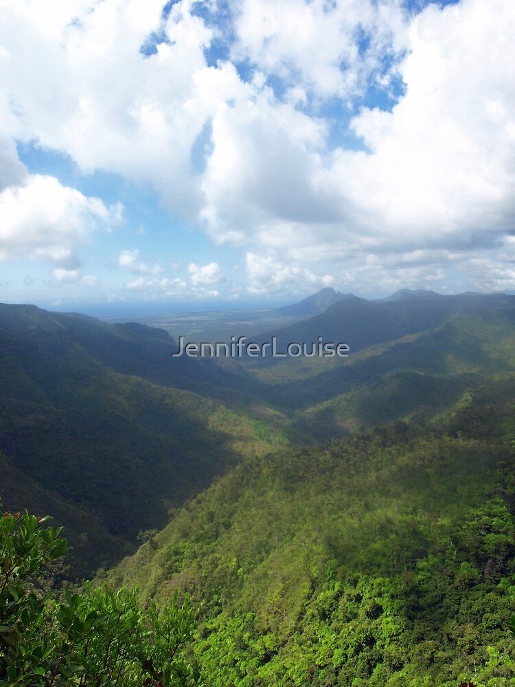 Black River Gorges National Park by JenniferLouise