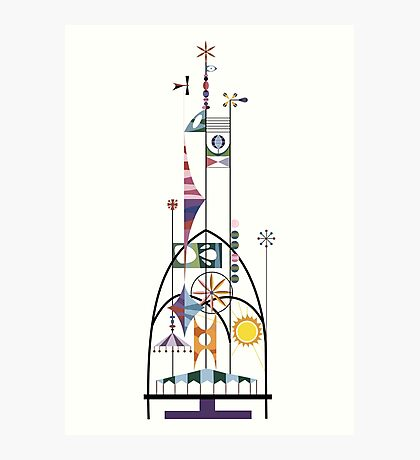 Tower of the Four Winds Photographic Print