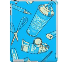 Weapons of mass construction iPad Case/Skin
