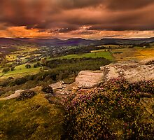 Sunset at Hathersage by Andrew Cooper