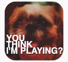 You Think I'm Playing? by Gustav Winther