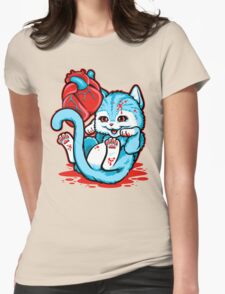 Cat Got Your Heart? Womens Fitted T-Shirt