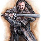 Dwarven leader by jankolas