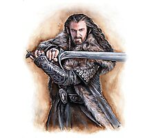 Dwarven leader Photographic Print
