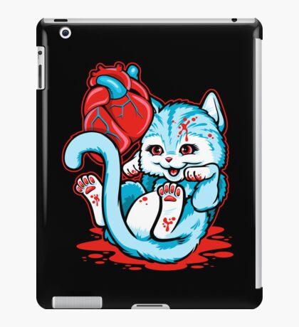 Cat Got Your Heart? iPad Case/Skin