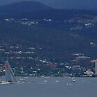 Wild Oats XI breaks Sydney-Hobart record - 2012 (Hobart, Australia) by PC1134