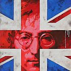 John Lennon a man of Peace,and The World by VitalyScher