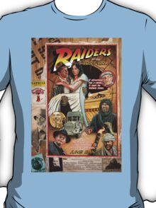 """Raiders of the Lost Ark, """"Circus Style"""" poster T-Shirt"""