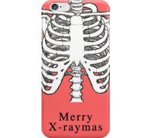 Merry X-raymas iPhone Case/Skin