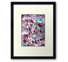VIVID COLORS FIVE BRIGHT Framed Print