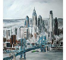 Philadelphia Cityscape - Wall Art Photographic Print