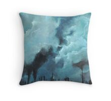 Nothin' But Blue Skies Throw Pillow