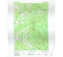 USGS TOPO Map New Hampshire NH East Haverhill 329544 1967 24000 Poster