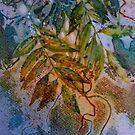 Wisteria Leaves by Val Spayne