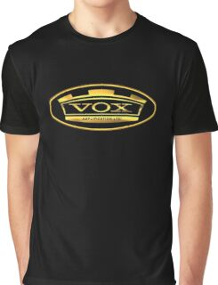 Gold Vox Amp Graphic T-Shirt