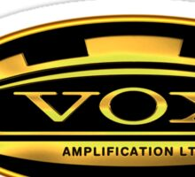Gold Vox Amp Sticker